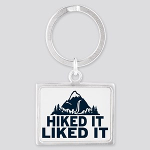 Hiked It Liked It Landscape Keychain