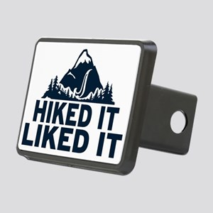 Hiked It Liked It Rectangular Hitch Cover