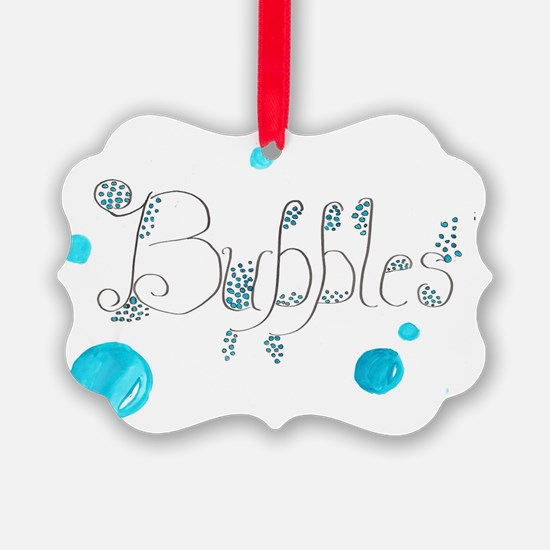Bubbles 1 Ornament