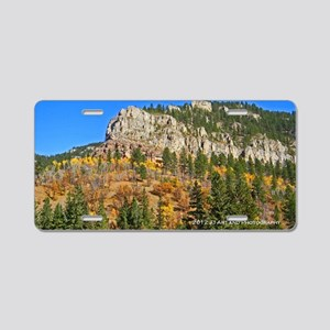 Spearfish Canyon Aluminum License Plate