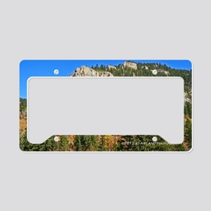 Spearfish Canyon License Plate Holder
