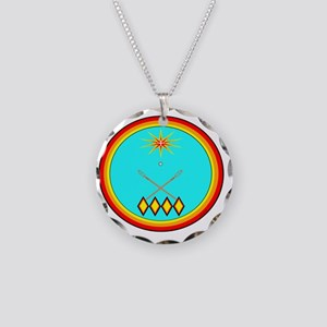 CHOCTAW Necklace Circle Charm