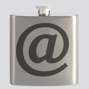Vintage At Sign Flask