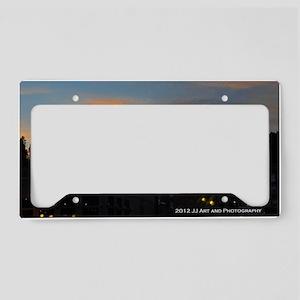 Deadwood Sunset License Plate Holder