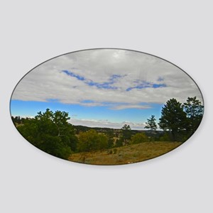 Custer State Park Sticker (Oval)