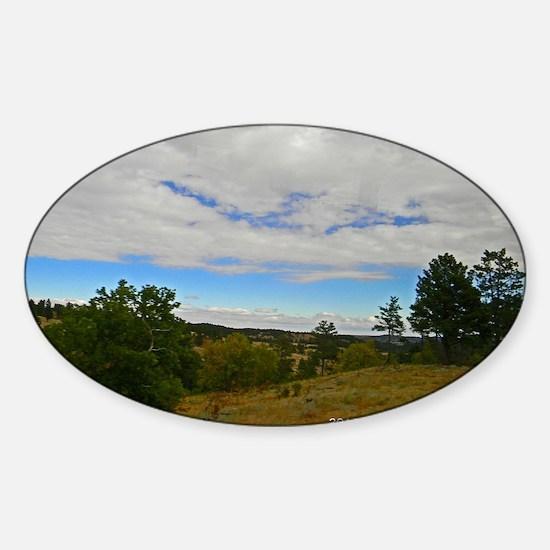 Custer State Park Sticker (Oval)