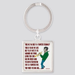 Trumpeters Fury Square Keychain