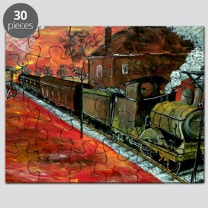 Whistle Stop Train Puzzle