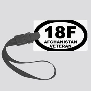 Special Forces Assistant Operati Large Luggage Tag