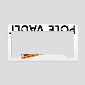 The new pole vault License Plate Holder