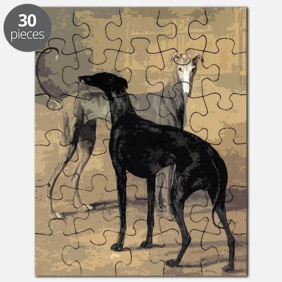Greyhound Card Puzzle