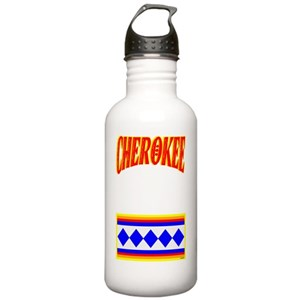 e68fa92686 Cherokee Heritage Water Bottles - CafePress