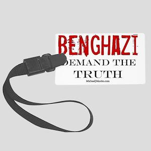 Benghazi Truth Large Luggage Tag