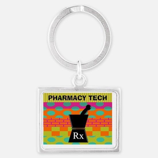 pharmacy tech tote 1 Landscape Keychain