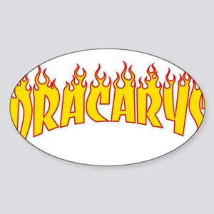 Dracarys - Thrasher Flame Parody Sticker