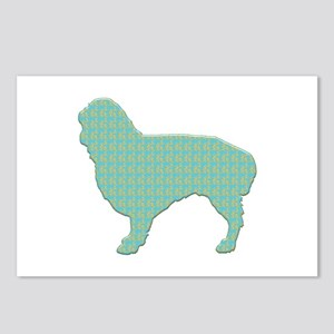 Paisley Spaniel Postcards (Package of 8)