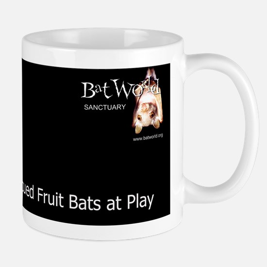fruit bats at play cover Mug