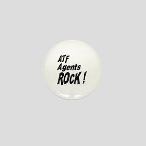 ATF Agents Rock ! Mini Button