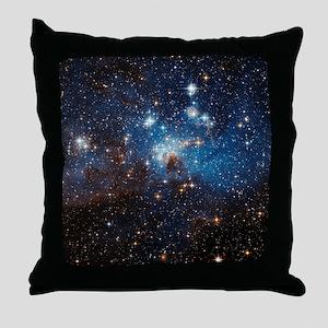 LH95 Stellar Nursery Throw Pillow