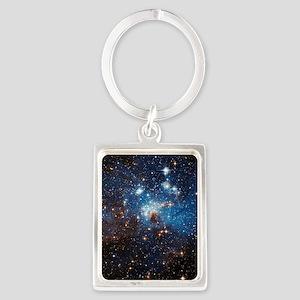 LH95 Stellar Nursery Portrait Keychain