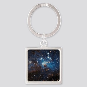 LH95 Stellar Nursery Square Keychain