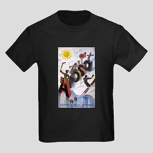 Arosa Switzerland - anon - 1938 - poster T-Shirt