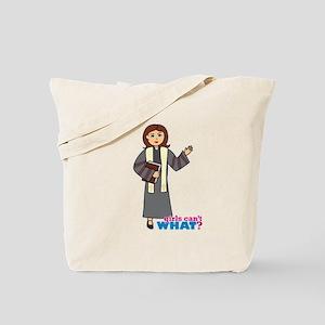 Preacher Woman Tote Bag