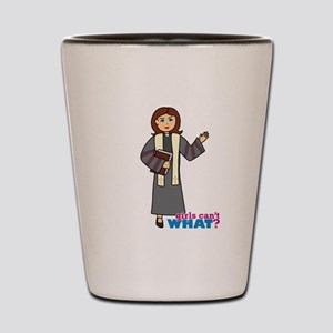 Preacher Woman Shot Glass
