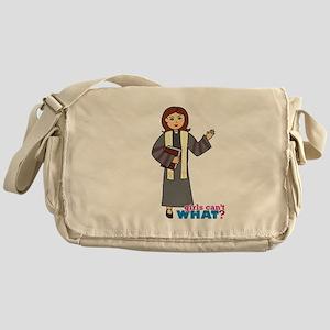Preacher Woman Messenger Bag