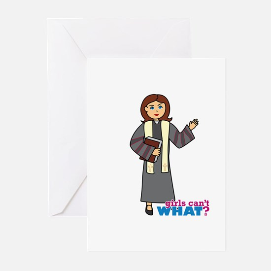 Preacher Woman Greeting Cards (Pk of 20)