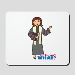Preacher Woman Mousepad
