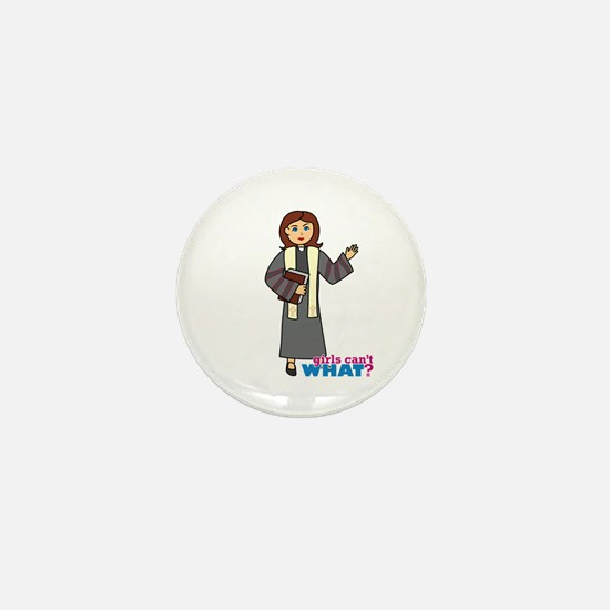 Preacher Woman Mini Button