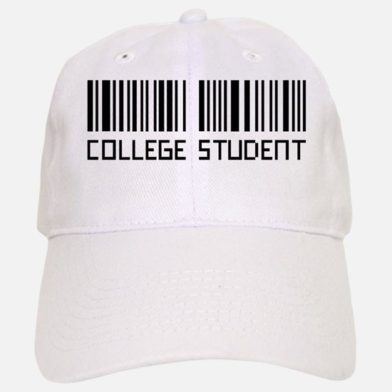College Student, Barcode Baseball Baseball Cap