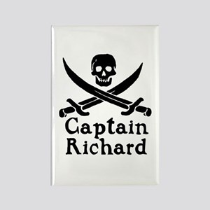 Captain Richard Rectangle Magnet