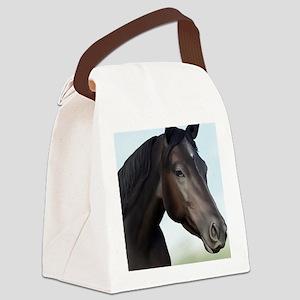 Kellie Digital Painting Canvas Lunch Bag