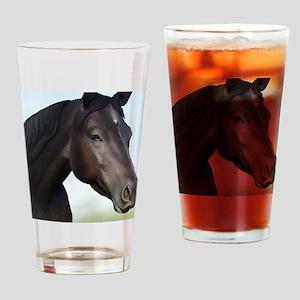 Kellie Digital Painting Drinking Glass