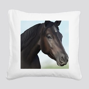 Kellie Digital Painting Square Canvas Pillow