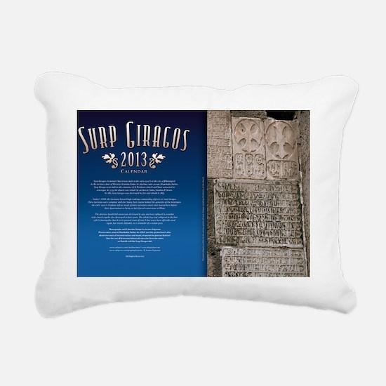Surp Giragos 2013 Calend Rectangular Canvas Pillow
