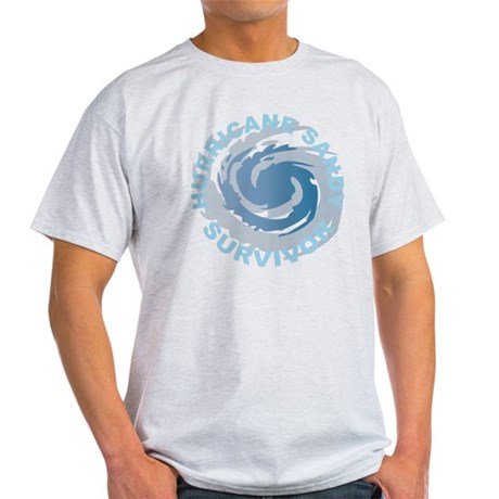 Hurricane Sandy Survivor 2012 Light T-Shirt