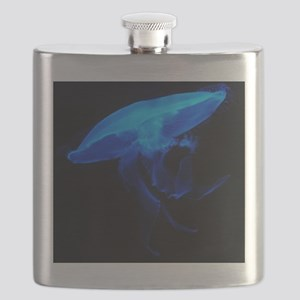 Blue Jelly Fish Flask