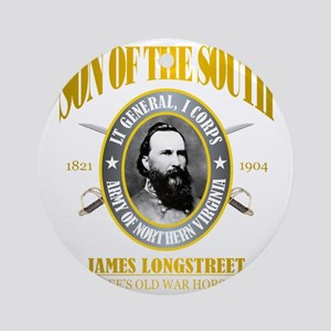 SOTS2 Longstreet (gold) Round Ornament