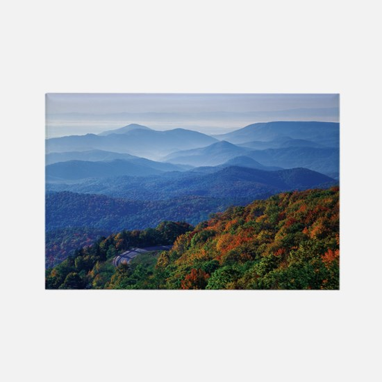 Blueridge Parkway Landscape Rectangle Magnet