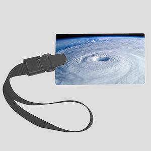 Hurricane Sandy Large Luggage Tag