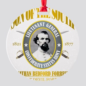 SOTS2 Forrest (gold) Round Ornament