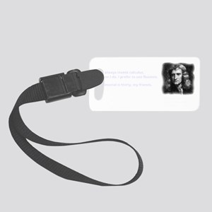 Isaac Newton - inventor of calcu Small Luggage Tag