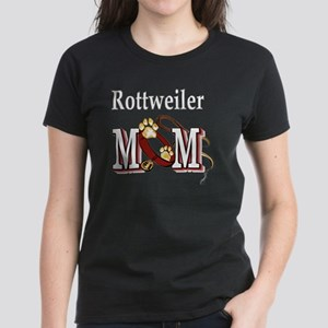 Rottweiler Mom Women's Dark T-Shirt