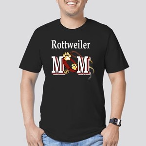 Rottweiler Mom Men's Fitted T-Shirt (dark)