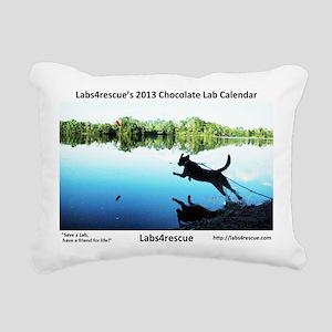 2013 Choco Cover Rectangular Canvas Pillow