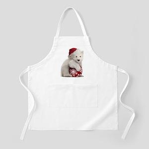 Polar Bear Cub Christmas Apron