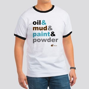 Oil Mud Paint Powder Ringer T